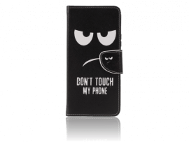 Don't Touch My Phone Flip Cover til Huawei P Smart Z