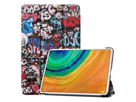 Cartoon Tri-Fold Cover til Huawei MatePad Pro