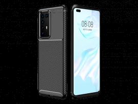 Carbon TPU Cover til Huawei P40 Pro