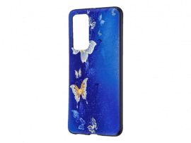 Blue Butterfly TPU Cover til Huawei P40