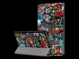 Cartoon Tri-Fold Cover til Lenovo Tab M10 HD 10.1