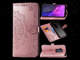 Henna Flip Cover til Motorola One Zoom