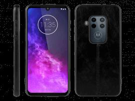 Kura Læder Cover til Motorola One Zoom