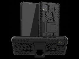 Hybrid Cover m. Kickstand til Xiaomi Redmi 9C
