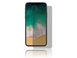 Privacy Glas til iPhone X / XS / 11 Pro