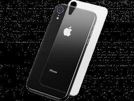 Hærdet Bagside Beskyttelsesglas til iPhone Xr