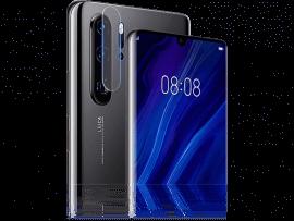 2-Pak Hærdet Kamera Beskyttelsesglas til Huawei P30 Pro