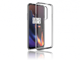 Transparent TPU Cover til OnePlus 7 Pro