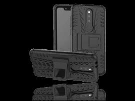 Armor TPU Cover m/ Kickstand til Nokia 5.1 Plus