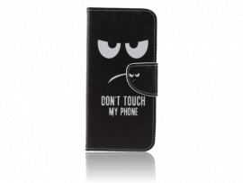 Don't Touch My Phone Flip Cover til Nokia 5.1 Plus