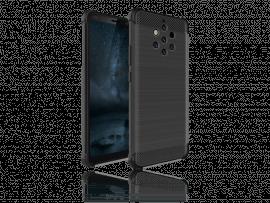 Carbon Fiber TPU Cover til Nokia 9 PureView