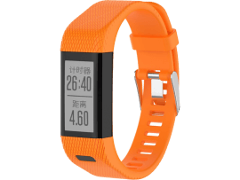 Silicone rem til Garmin Approach X10 / X40-Orange
