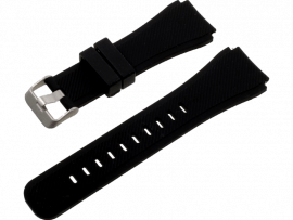 Silicone rem til Huawei Watch GT 2e-Sort