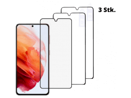 3 Stk. 3D Hærdet Beskyttelsesglas til Samsung Galaxy S21