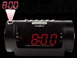 Radio Vækkeur m. Projektor