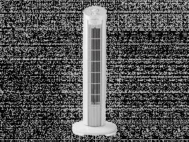 Tårnventilator m. Timerfunktion