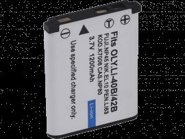 Li-40B/42B Batteri til Olympus Stylus Kameraer