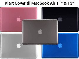 "Klart Cover til Macbook Air 13"" (A1369 / A1466)"