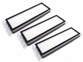 3 Stk. HEPA filter til Xiaomi Roborock S6 / S60 / S6 Pure / S6 MaxV