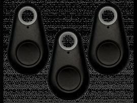 3 Stk. Sorte Bluetooth Nøglefindere