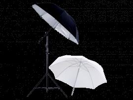 Foto Paraply på Stativ m. Cold Shoe