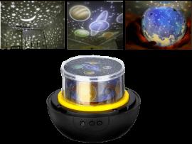Roterende Univers Projektor / Natlampe