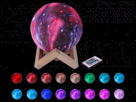 Galaxy Lampe m. Fjernbetjening - Ø15