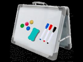 Magnetisk Dobbeltsidet Whiteboard – 40x30cm