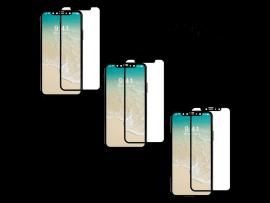3 Stk. 3D Beskyttelsesglas til iPhone X / XS