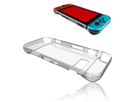 Transparent Hard Case Cover til Nintendo Switch