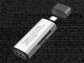 USB-C til USB & SD Adapter