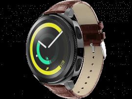 Croco Rem til Huawei Watch GT 2 42mm-Brun