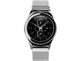 Cuneo rem til Samsung Galaxy Watch Active 2 40/44mm-Sølv