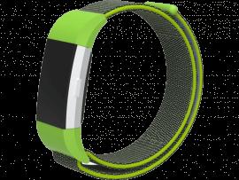 Velcro nylon rem til Fitbit Charge 2