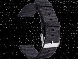 Nylon rem til Samsung Galaxy Watch Active 2 40/44mm-Sort