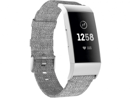 Canvas rem til Fitbit Charge 3 / 4