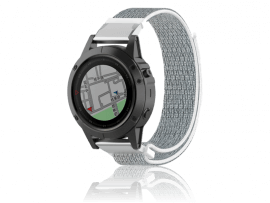 Velcro rem til Garmin Tactix Bravo / Charlie-Grå