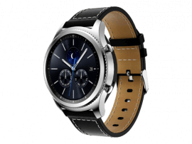 Terni rem i genuine læder til Samsung Gear S3 / Galaxy Watch 46mm
