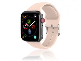 Diamond Silicone rem til Apple Watch Series 6 40mm