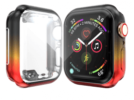Rainbow Cover m/ Skærmbeskyttelse til Apple Watch 1 / 2 / 3 - 38mm
