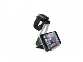 Apple watch stand i aluminium - Sølv