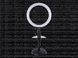 30 CM Selfie Ring Lys på stativ m/ Smartphone Holder