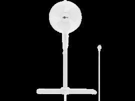 40cm Hvid Gulvventilator m. Rotation