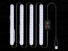 RGB LED Strips m. Fjernbetjening