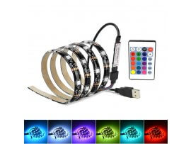 Colourful RGB LED-Lys til TV & PC