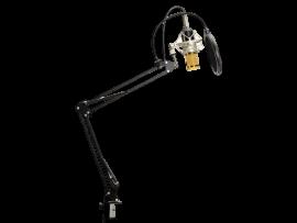 Kondensator Mikrofon m/ Stativ