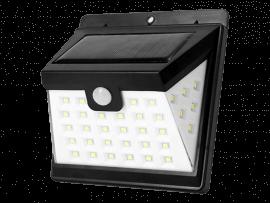 Solcelle Lampe m. Bevægelses Sensor