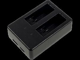 Dobbelt batteri-oplader til GoPro HERO 5 / 6 / 7 / 8
