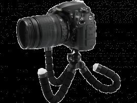 Octopus Tripod til DSLR & GoPro