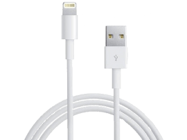 Kabel til iPhone 5,6,7 & 8 - 1 meter